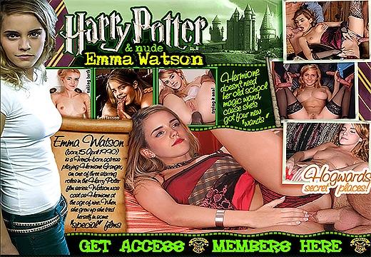 Порно пародия на гарри поттера онлайн