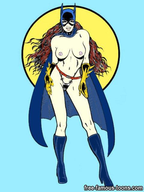 toon sex batman and batgirl video