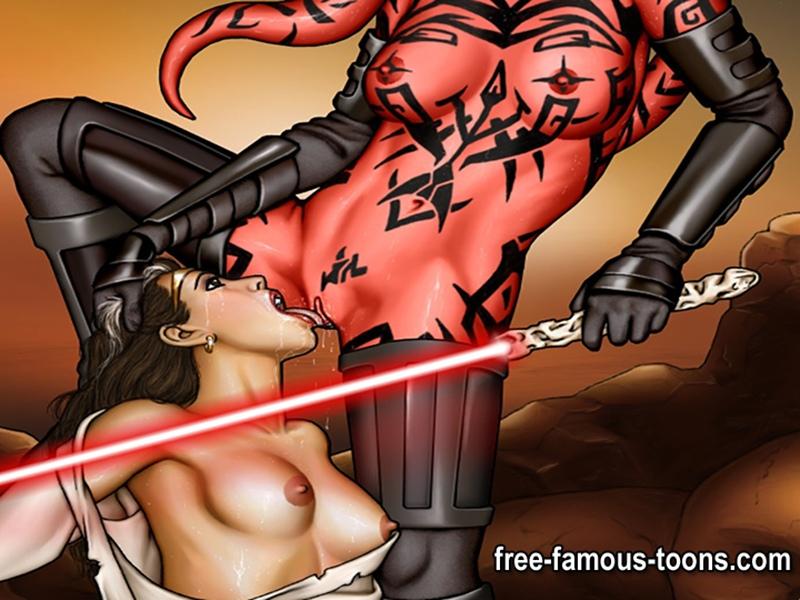 Порно мультики porodiя на star wars