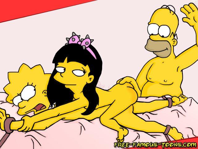 simpson gets laid porno