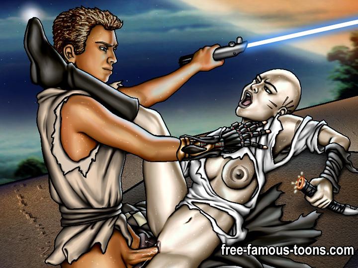 Free star wars cartoon porn