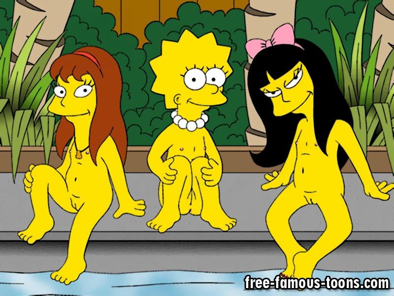 Think, that Lisa simpson porn lesbian something also