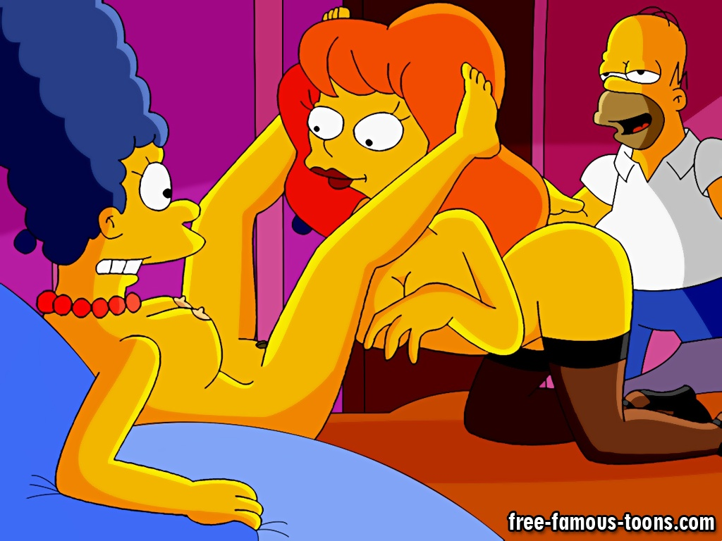 The simpsons sex orgy
