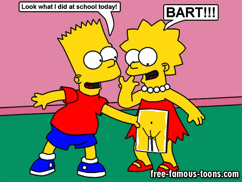 Bart and lisa sex games