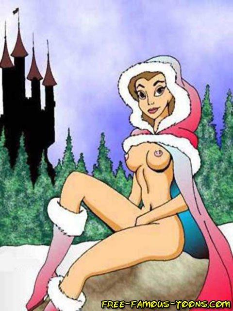 Opinion nude princess belle