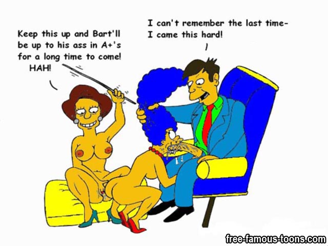 Orgy naked simpsons family the doubt it