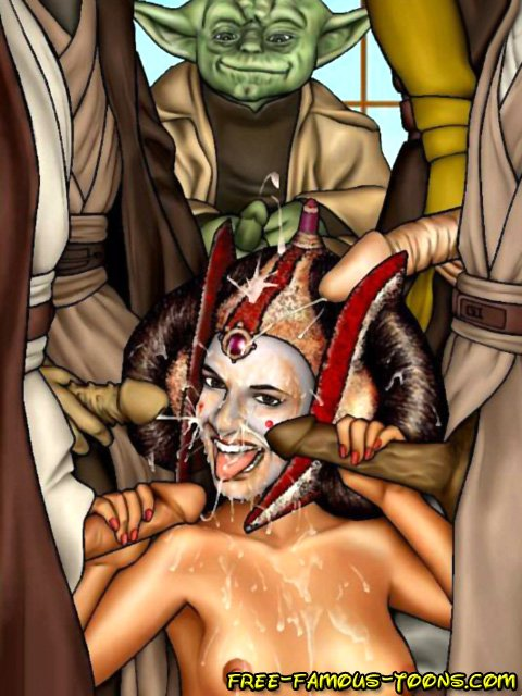 More star wars orgy Rather valuable