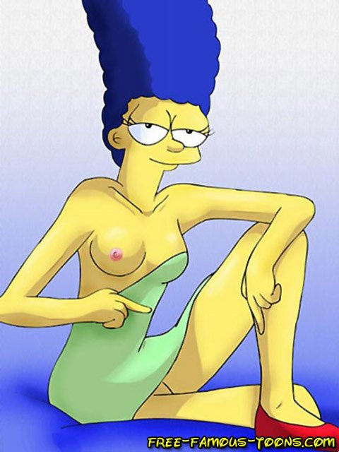 Marge simpsons gets fucked hard in ass