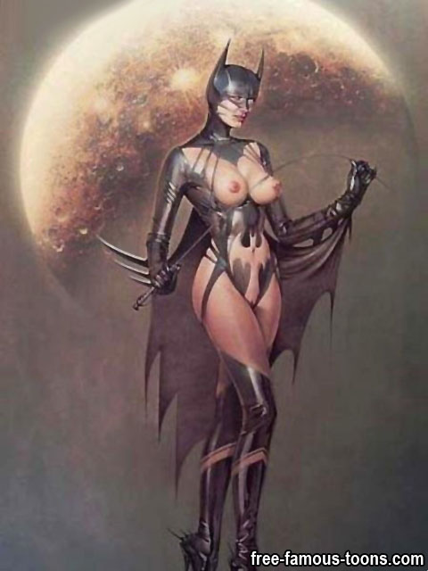 Sey Batgirl And Catwoman Nude