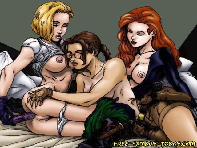 nude raider toons
