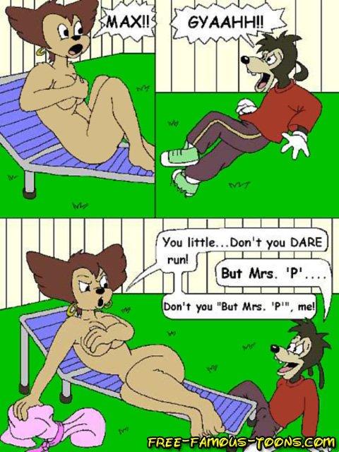 Naked max goof