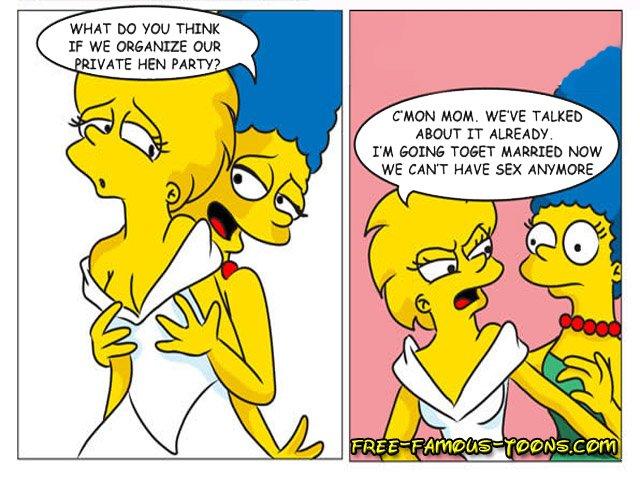 Free Cartoon Lesbian Porn