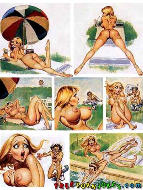 смешные комиксы порно