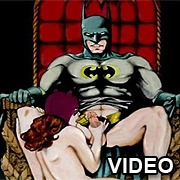 Batman and Catwoman hard sex