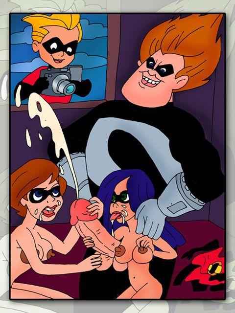 Incredibles family porn comics