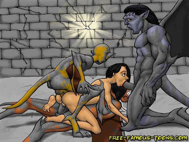 оргия порно мультфильм