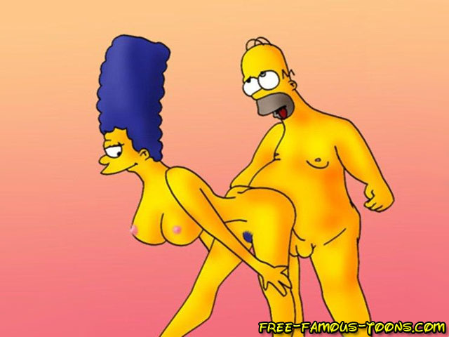 Marge simpsons gets fucked hard in ass you