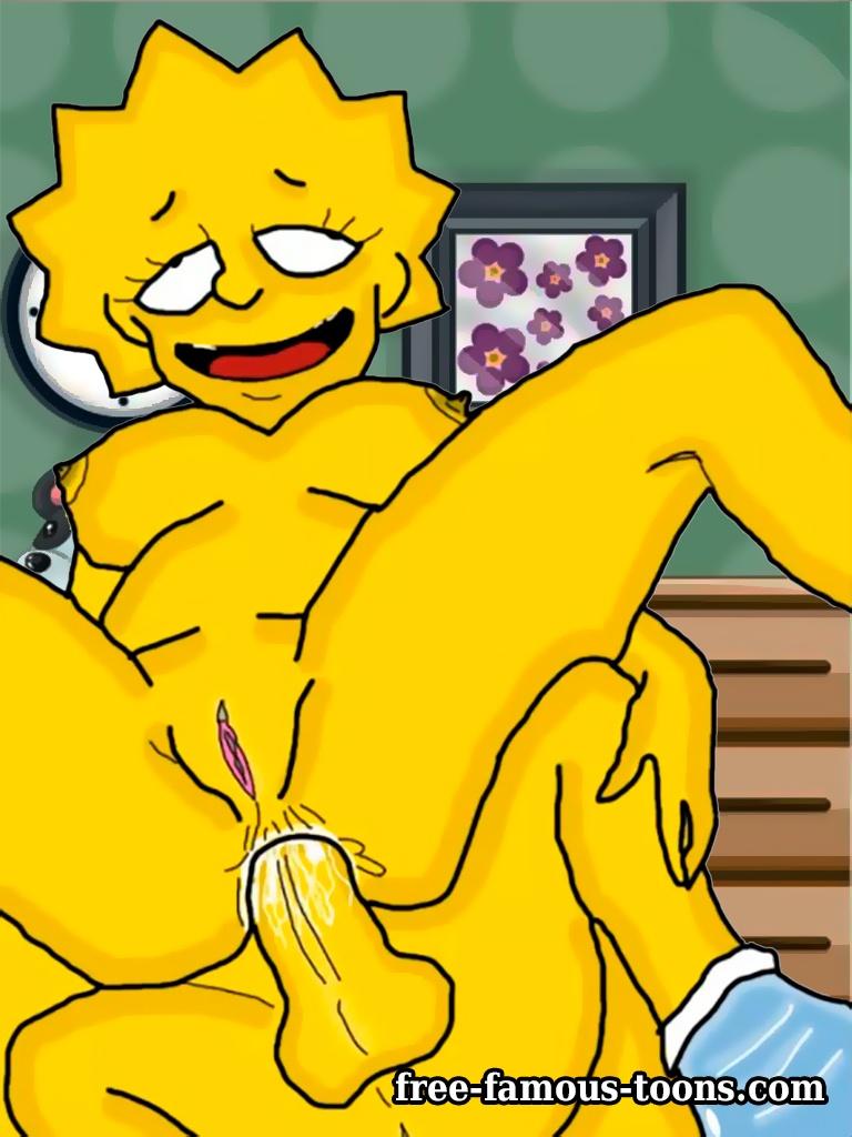 Analsex Cartoon lisa simpson anal sex